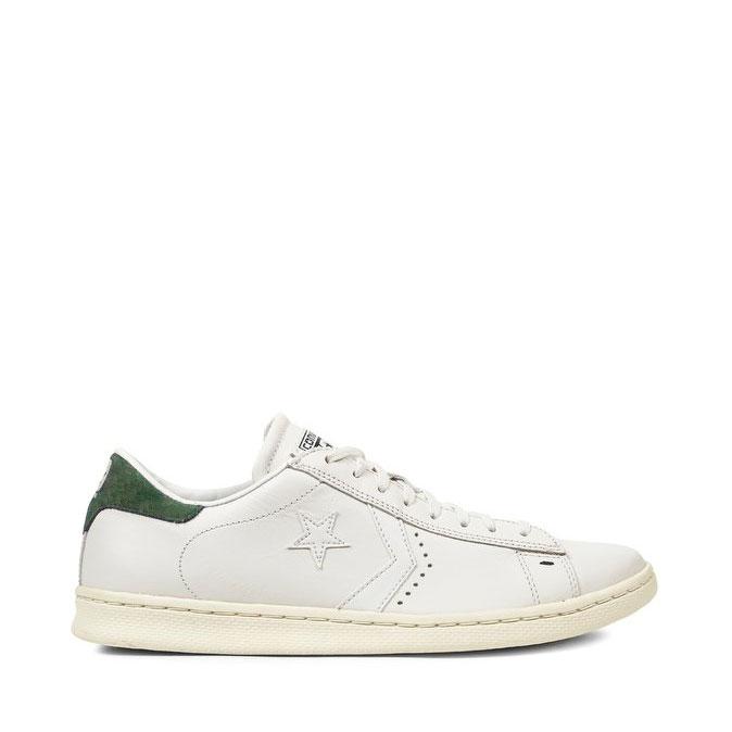 7c0b28210e164 Converse Pro Leather – Bianca Tallone Verde – Borgarello